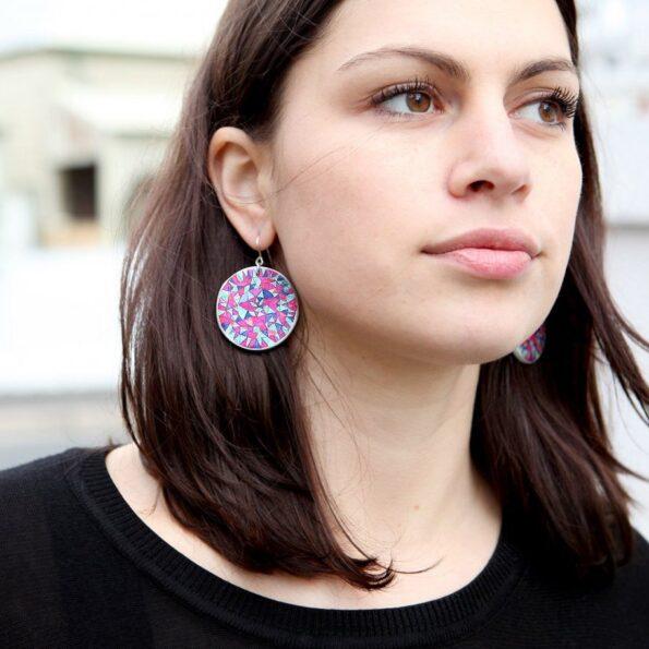 mandala earrings unique handmade vicki leigh next romance