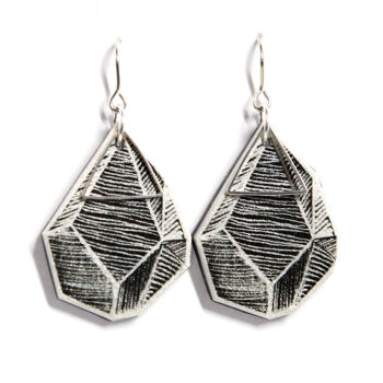 white lines black art illustrated earring designs NEw NEW nexT ROMANCE jewels melbourne