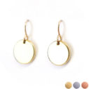 12mm-white-3 tone larger-coin-gold-earrings-unique-jewellery-australia-next-romance