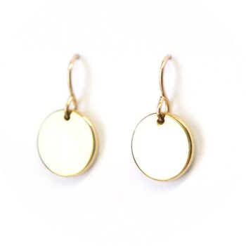 12mm-white-bgd-larger-coin-gold-earrings-unique-jewellery-australia-next-romance