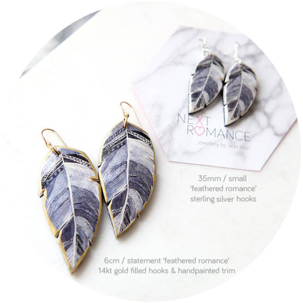 bw-feather-art-earrings-2-sizes-statement-next-romance-1