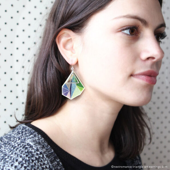 green blue-triangle-art-earrings-next-romance