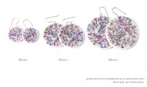 mandala sketch earring sizes