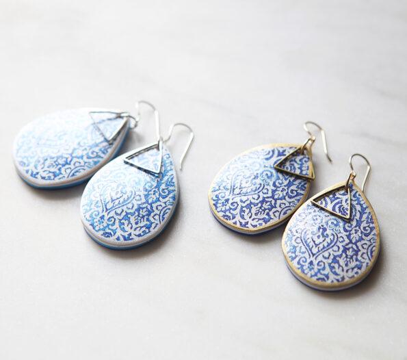 moroccoan teardrop earrings NEXT ROMANCE