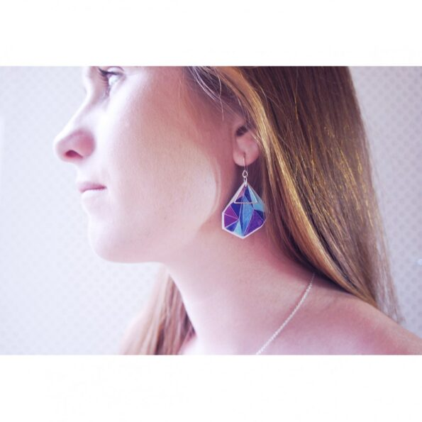 po-model-violet-blue-triangle-art-earrings-new-next-romance