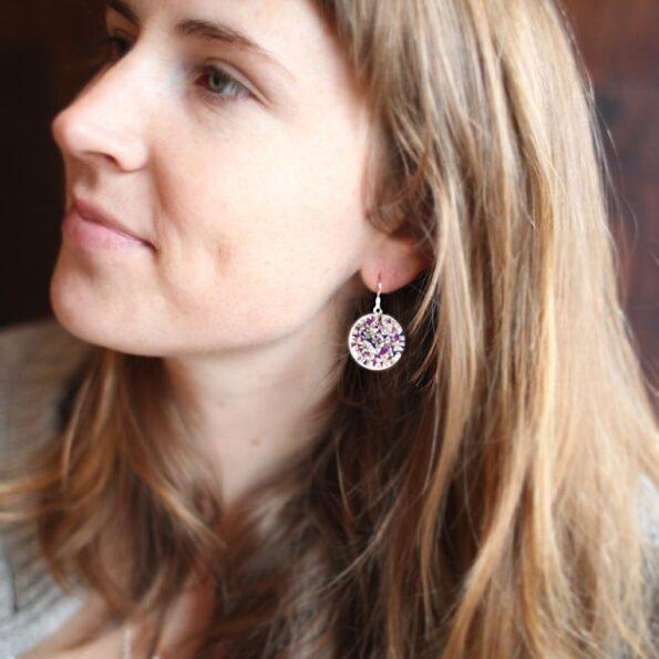 purple-next-romance-small-art-print-earring