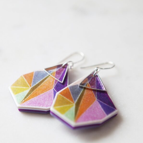 small-orange-earring-triangle