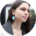 teal-boho-baroque-earring