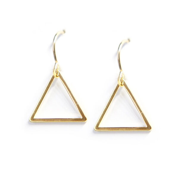 TRIANGLE geometric dangley earrings