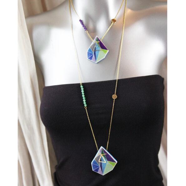 blue triangle art lengths gold next romance