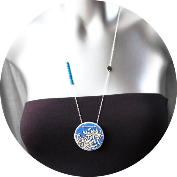 crysanthemum-pendant-round-next-romance-jewellery-australia-melbourne-blue-silver