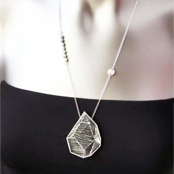 geo-rock-white-lines-art-necklace-pendant-vicki-leigh crop next roamnce