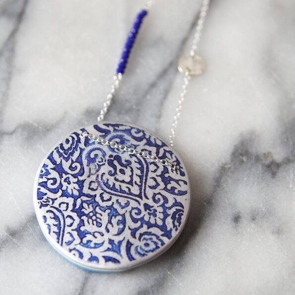 morocco-necklace-blue-ceramic-design-jewellery-vicki-leigh