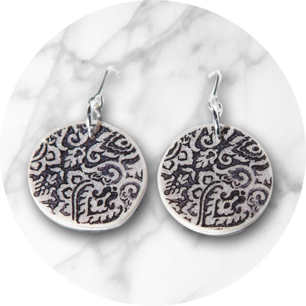 new next romance jewellery etch marble morocco circle design