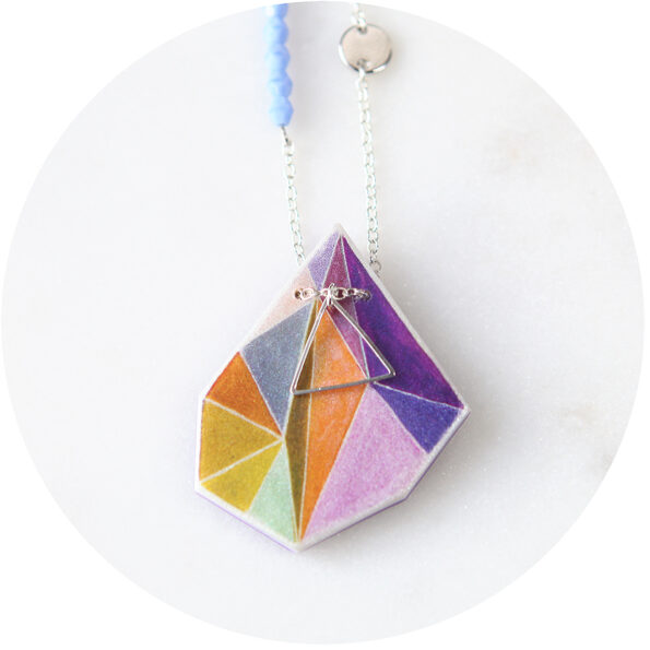 triangle necklaces next romance jewellery