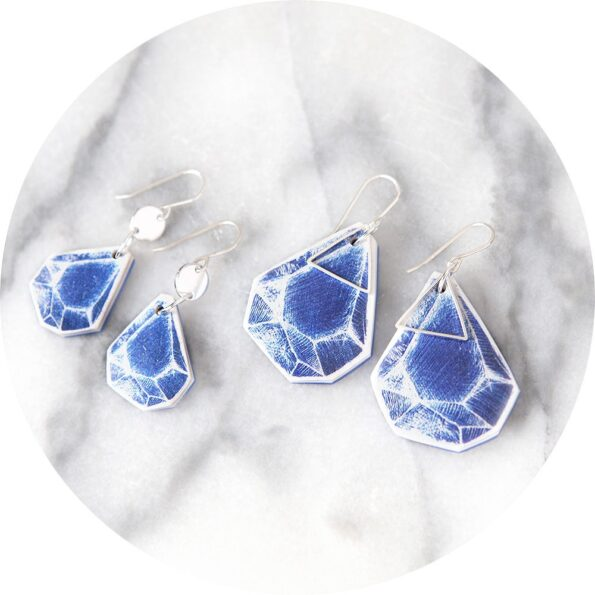 cyanotype-earrings-rock-art-sketch-unique-illustrated-jewellery-vicki-leigh-next-romance