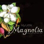 my little magnolia logo square