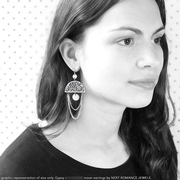 Julia gypsy morocco earrings on model 2017 next romance gypsy