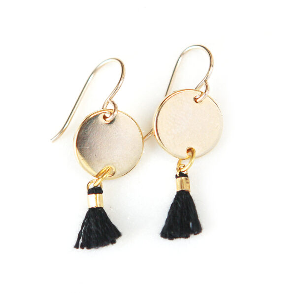 gold coin and mini tassels fine jewellery modern next romance jewellery australia