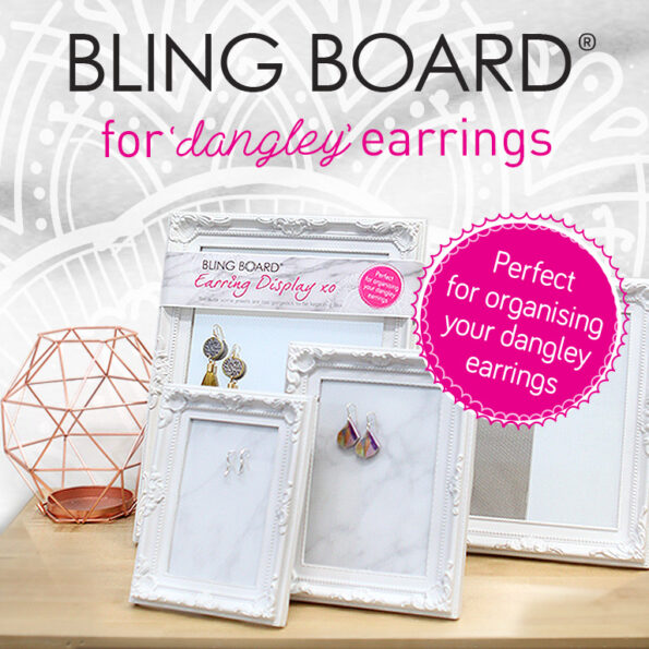 Bling Board® earring organiser display GREAT GIFT IDEA