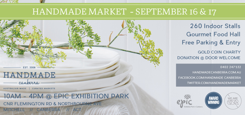 handmade canberra insert dates link next romance markets 2017