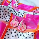 PICTOR triangle art signature Next Romance X DEVOI fabric designs