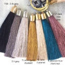tassel colour Byron earrings options