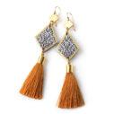 zakaria morocco gold tassel dangleys earringsIMG_4423