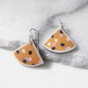 CYGNUS YW sml fan art earrings DEVOI x Next Romance Jewellery