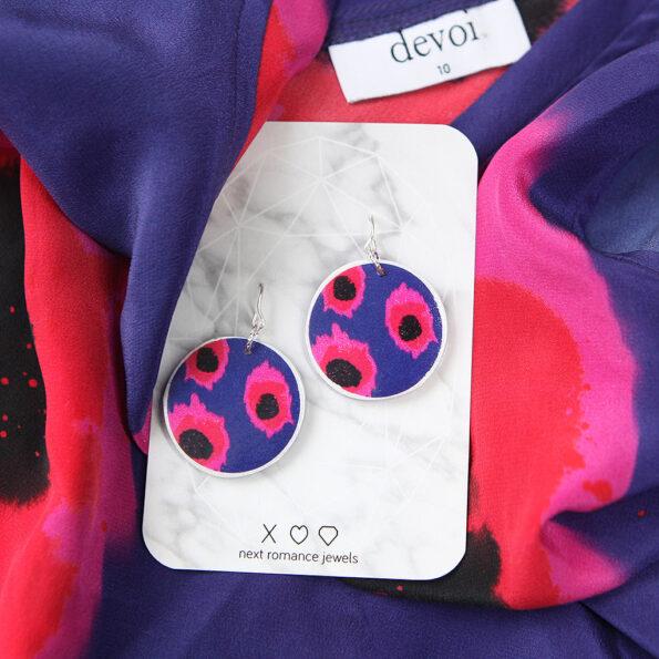 DEVOI VELA circle art earrings – Next Romance X DEVOI