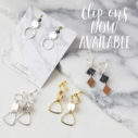unique clip on clipon earrings next romance jewellery australia