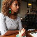 tassel earrings green unique australian design next romance jewellery
