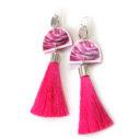 rosey wedding earrings tassel NEXT ROMANCE jewels australia