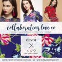 DEVOI chrysanthemeum collaboration insta ad