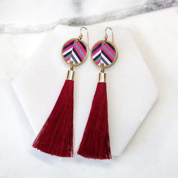 phosphene pattern earrings NEW next romance jewels AUSTRALIA DEVOI collaboration tassels