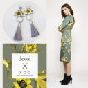 Nemophily YW floral Devoi x Next romance collaboration