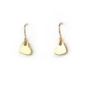 gold hearts tiny dangle minimal modern stylish Next Romance jewels