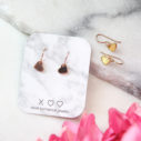 heart dangle earrings drop hooks next romance jewellery melbourne