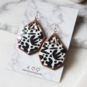 bw rose gold dot and ziggy large NEXT ROMANCE JEWELS