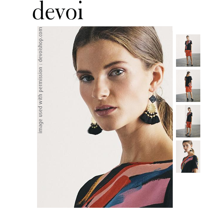 devoishop five and dime earrings