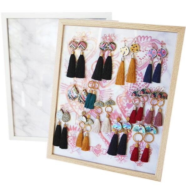Bling Board® earring organiser display MODERN