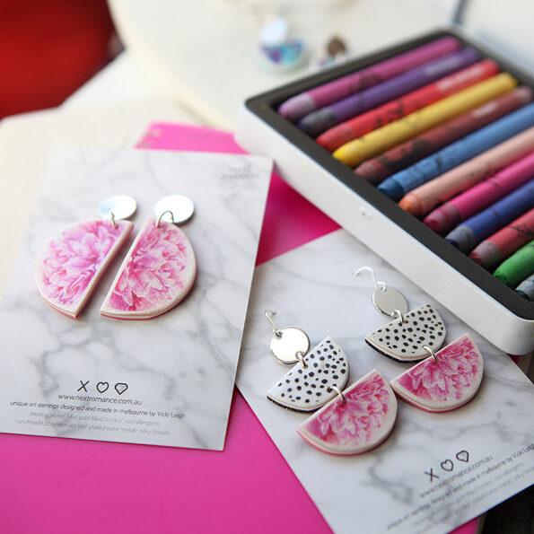 peony moon pink rose gold NEXT ROMANCE jewellery