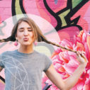 GIRL PINK - graffiti - bcard low crop