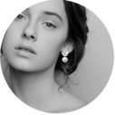 wavy stud pearls silver unique earrings next romance jewellery designs