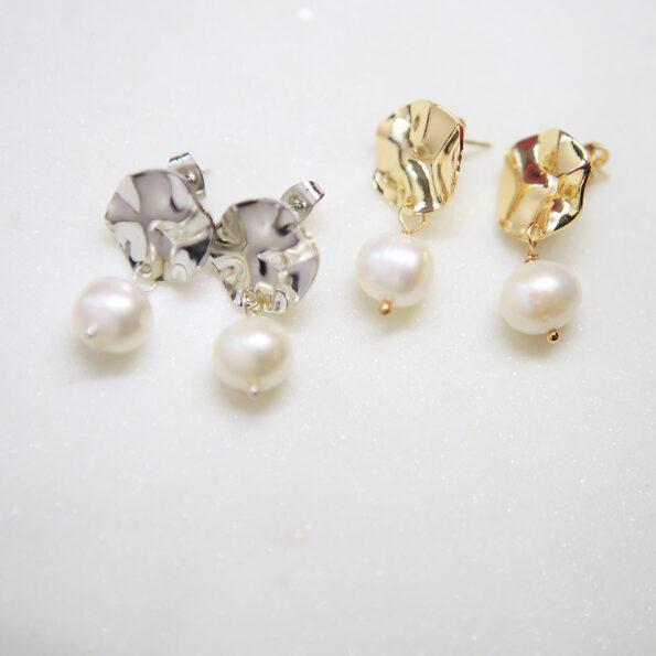wave pearl earrings stud new next romance jewels jewellery australia